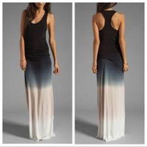 YF & B, Hamptons racerback ombré  maxi dress